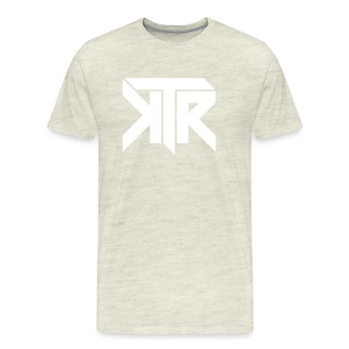 KTR Logo White - Men's Premium T-Shirt