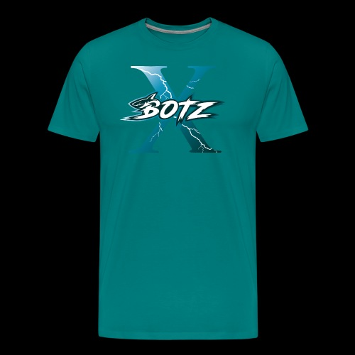 BOTZ X Logo Plain - Men's Premium T-Shirt