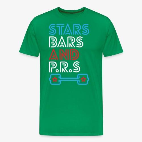 Stars, Bars And PRs - Men's Premium T-Shirt
