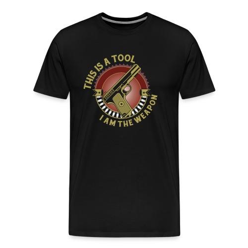 I am the Weapon - Men's Premium T-Shirt