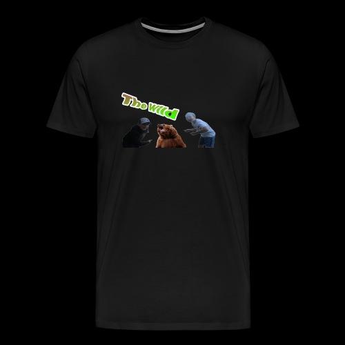 Exploring the wild - Men's Premium T-Shirt