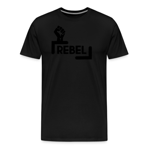 Black Rebel logo - Men's Premium T-Shirt