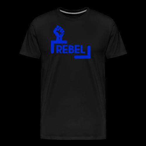 Blue Rebel Design - Men's Premium T-Shirt