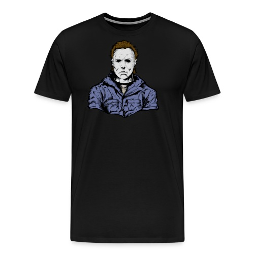 Horror Legend Masked Psycho Crazed Killer - Men's Premium T-Shirt