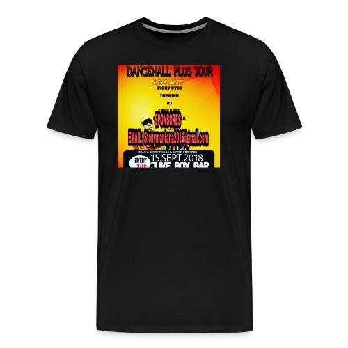 Dancehall plug tour Germany t-shirts TWG MUSIC - Men's Premium T-Shirt