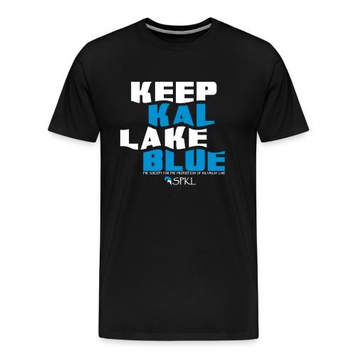 Keep Kal Lake Blue, Navy Women's Hoodie - Men's Premium T-Shirt