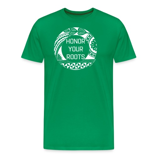 Honor Your Roots (White) - Men's Premium T-Shirt