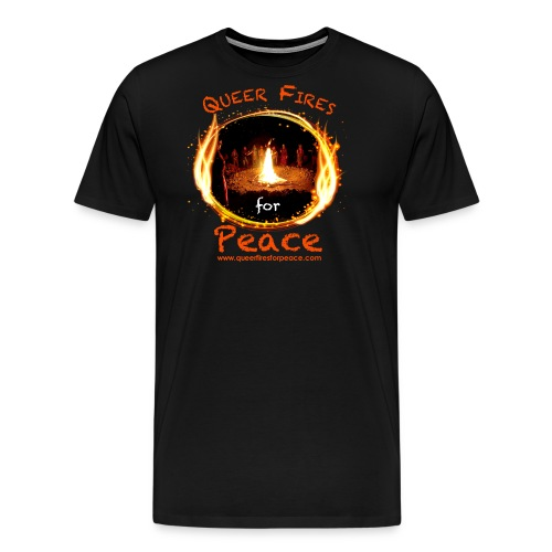 Queer Fires for Peace - Men's Premium T-Shirt