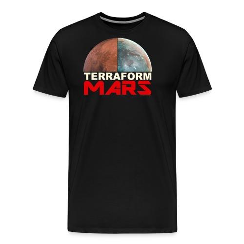 Terraform Mars - Men's Premium T-Shirt