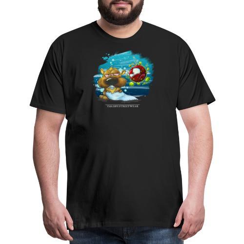 the tragic of life - Men's Premium T-Shirt