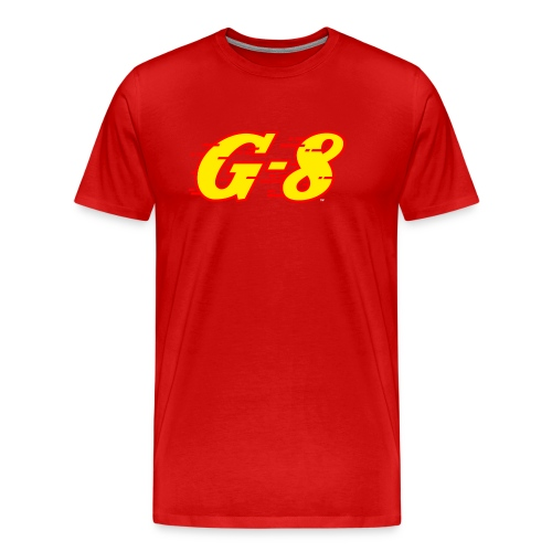 G 8 Logo Yellow - Men's Premium T-Shirt