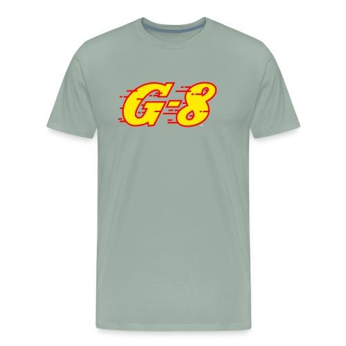 G 8 Logo Yellow - Men's Premium T-Shirt