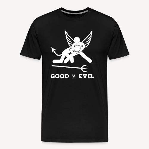 GOOD V EVIL - Men's Premium T-Shirt