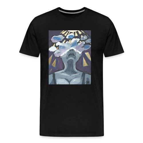 Brainstrom artwork Tee - Men's Premium T-Shirt