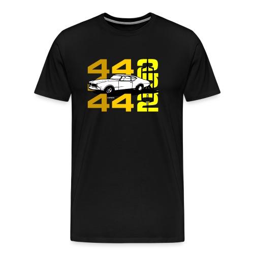 auto_oldsmobile_442_002a - Men's Premium T-Shirt