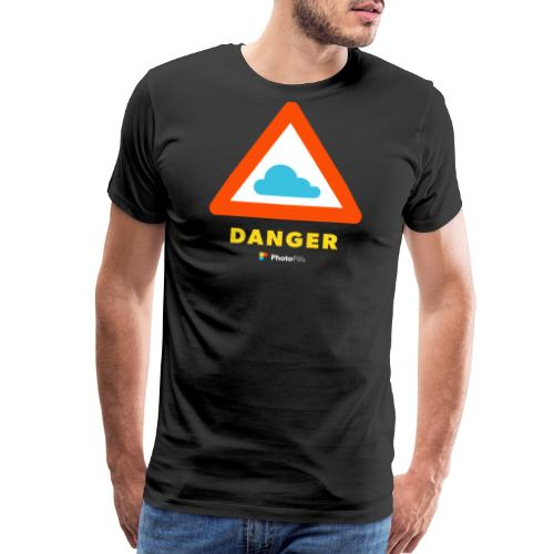 Danger Clouds! - Men's Premium T-Shirt