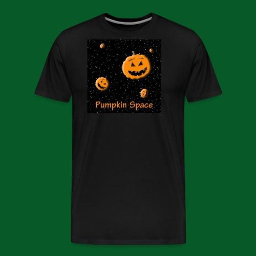 Pumpkin Space - Men's Premium T-Shirt
