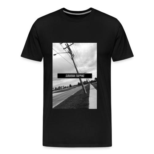 The Peg Black White - Men's Premium T-Shirt