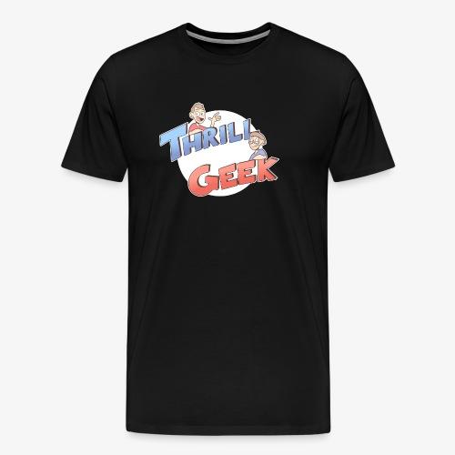 ThrillGeek Podcast Logo Shirt - Men's Premium T-Shirt