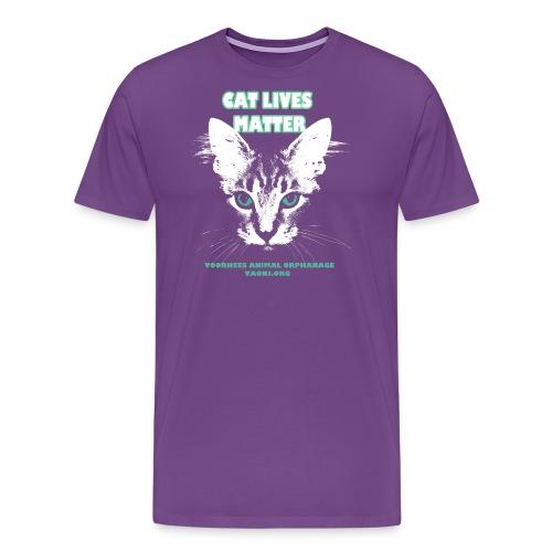 Cat Lives Matter - Men's Premium T-Shirt