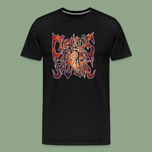 Clouds Taste Satanic - Dawn Logo T-Shirt - Men's Premium T-Shirt