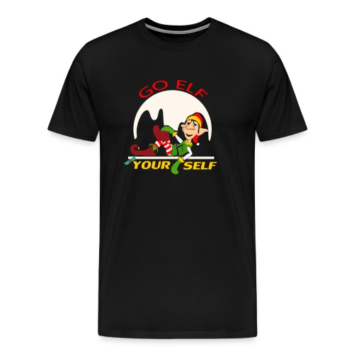 Go Elf Your self mery cristmas - Men's Premium T-Shirt