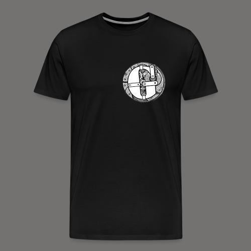 Greenish Cog Steampunk png - Men's Premium T-Shirt
