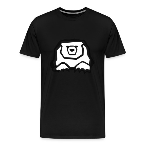 tshirt40oursenoireb - Men's Premium T-Shirt