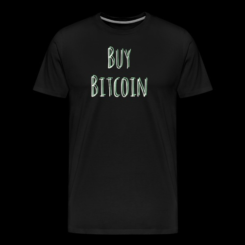 Buy Bitcoin - Men's Premium T-Shirt