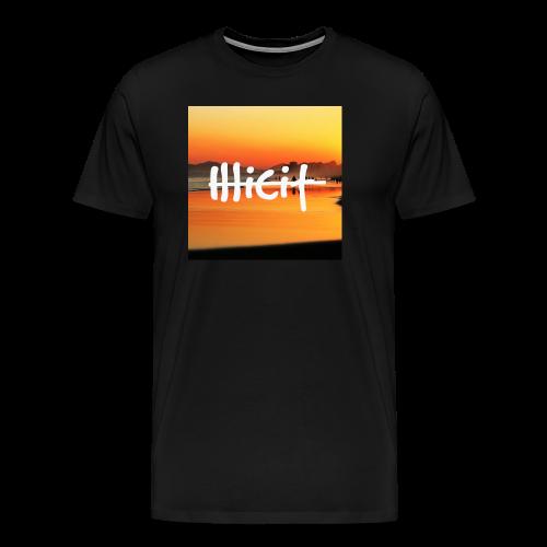 illicit sunset - Men's Premium T-Shirt