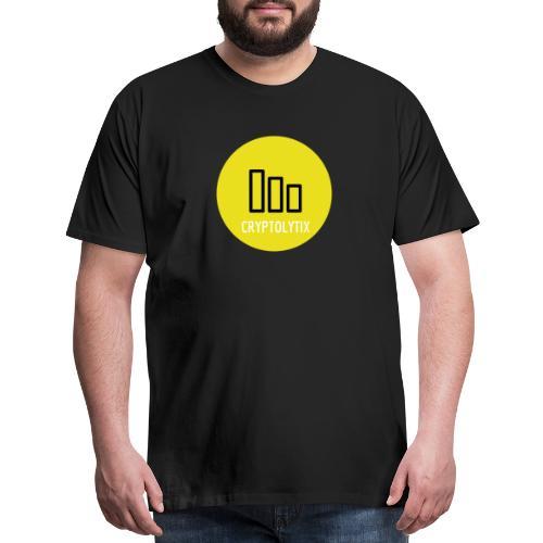 Spread the word with the CRYPTOLYTIX logo - Men's Premium T-Shirt