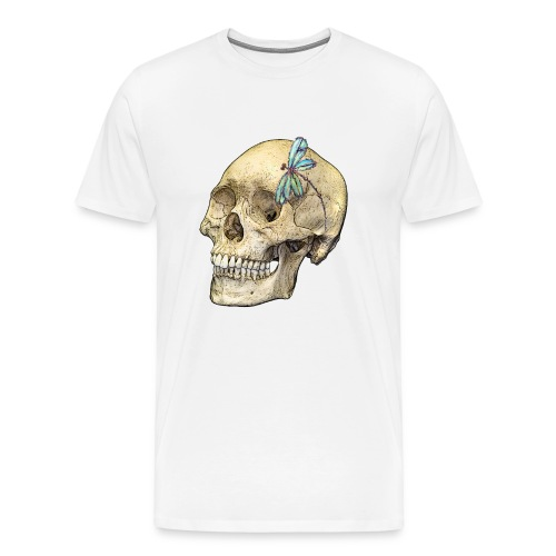 Skull & Dragonfly - Men's Premium T-Shirt