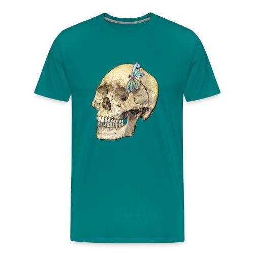 Skull & Dragonfly - Men's Premium T-Shirt