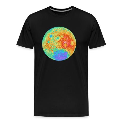 Moon Relief - Men's Premium T-Shirt