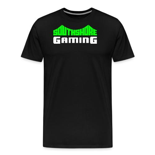 SSG Logo Color White - Men's Premium T-Shirt