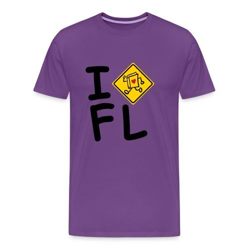 internal bally i cross florida - Men's Premium T-Shirt