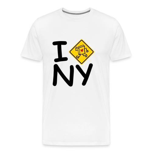 internal bally i cross new york - Men's Premium T-Shirt