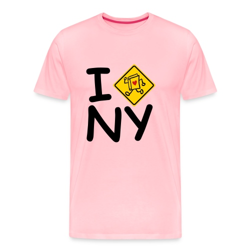 internal bally i cross new york - Men's Premium T-Shirt