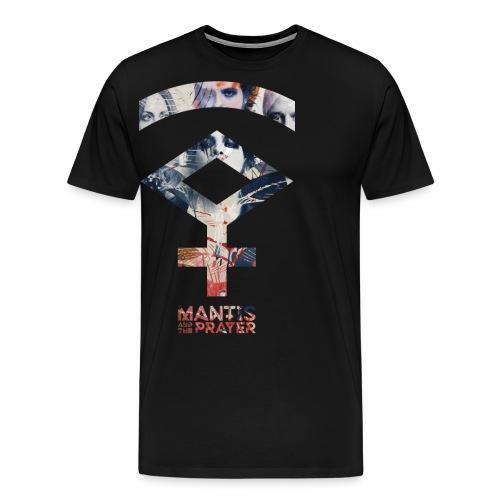 Mantis and the Prayer- Symbol Design - Men's Premium T-Shirt