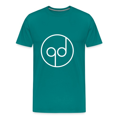 White Icon - Men's Premium T-Shirt