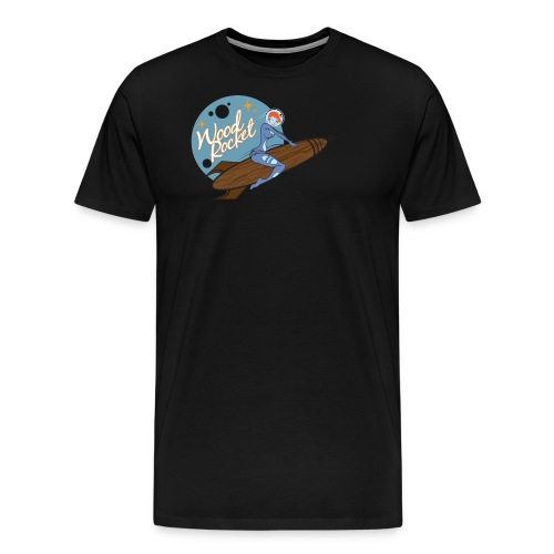 WoodRocket Rocket Girl - Men's Premium T-Shirt