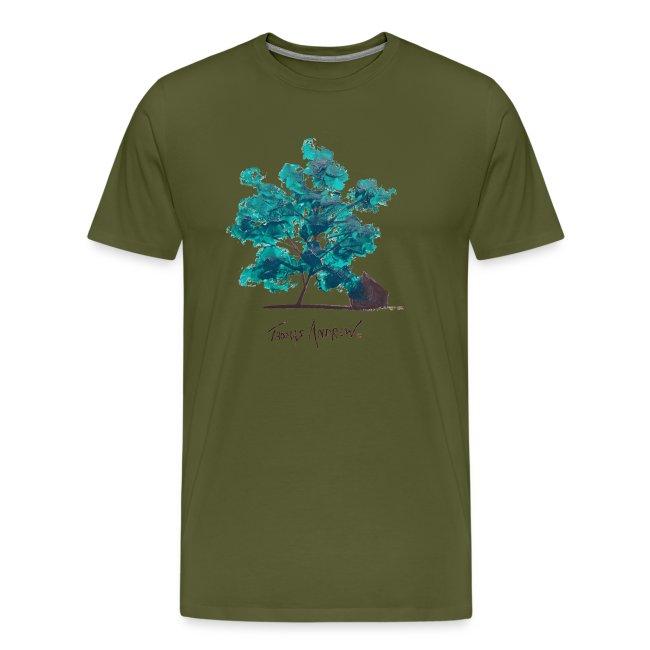 Teal Tree PNG