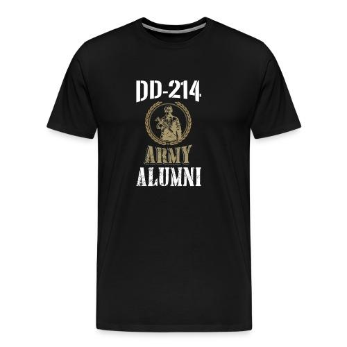 DD-214 ARMY ALUMNI - Men's Premium T-Shirt