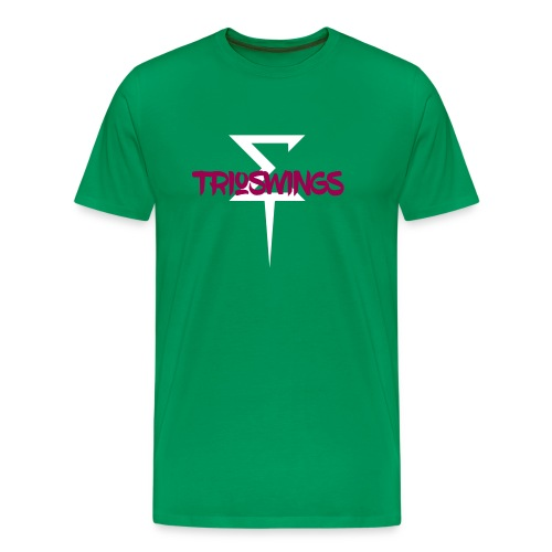 TrioSwings Tricking Tee - Men's Premium T-Shirt