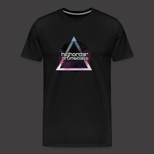 HO space triangle logo2HiRes png - Men's Premium T-Shirt