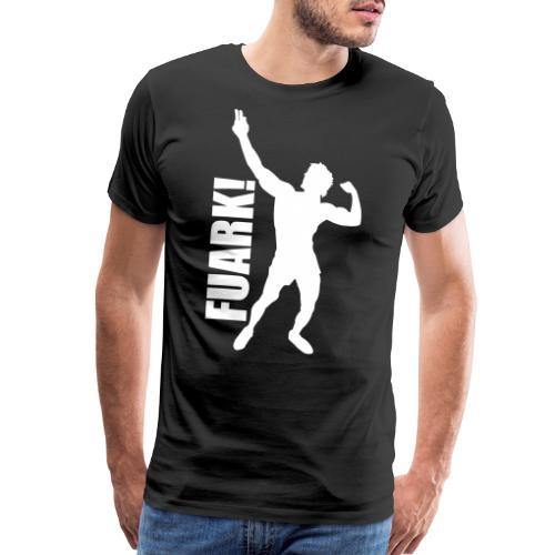 Zyzz Silhouette FUARK - Men's Premium T-Shirt