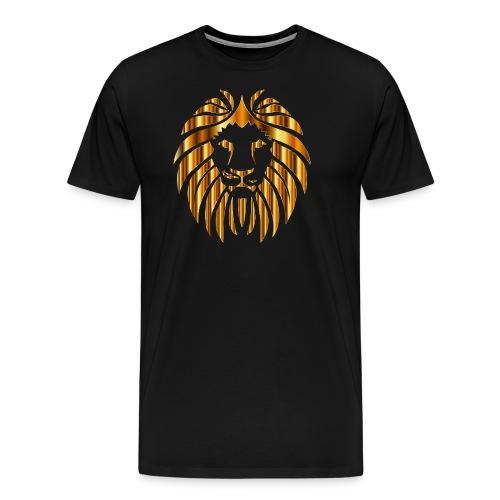 Golden Lion 10 No Background - Men's Premium T-Shirt