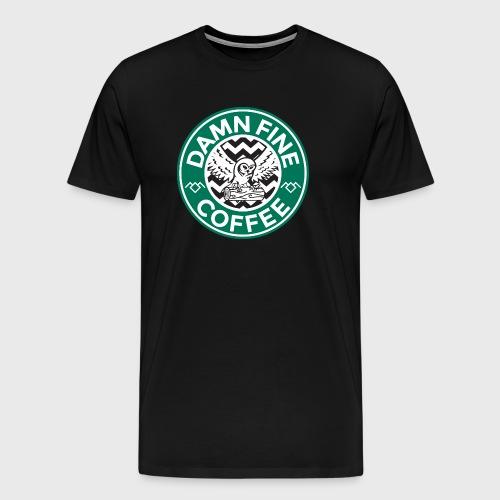 Twin Peaks Starbucks - Men's Premium T-Shirt