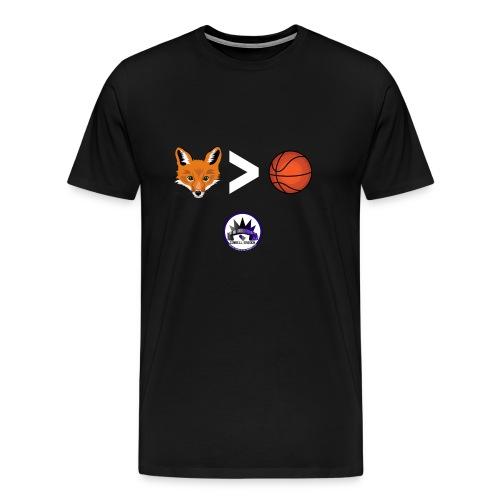 Fox is Greater-than Ball - Men's Premium T-Shirt