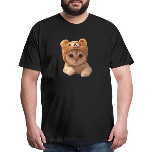 uwu catwifhat - Men's Premium T-Shirt